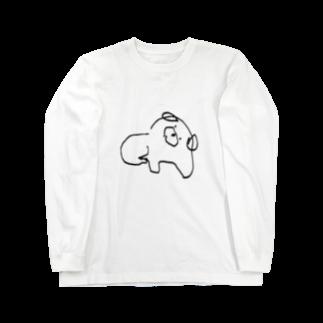 KsFactoryのいぬロングスリーブTシャツ