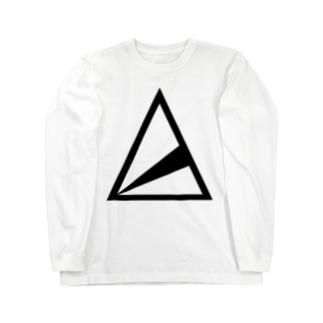anica logo ロングスリーブTシャツ