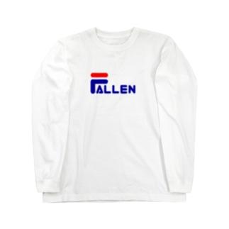 FALLEN ロングスリーブTシャツ