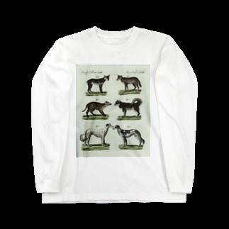 J. Jeffery Print Galleryの1802年ドイツの犬たちロングスリーブTシャツ