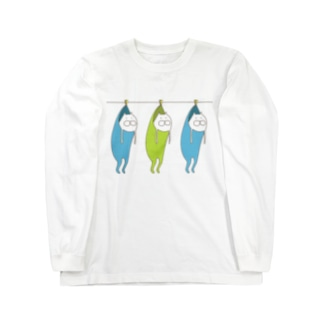 ねこタイツの洗濯 ロングスリーブTシャツ