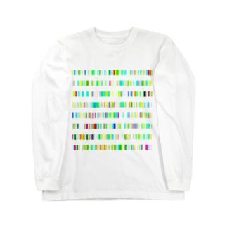 Color Bars ロングスリーブTシャツ