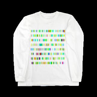 レオナのColor BarsロングスリーブTシャツ