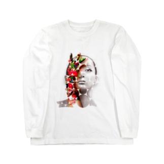 儚いもの、でも儚いから求める ロングスリーブTシャツ
