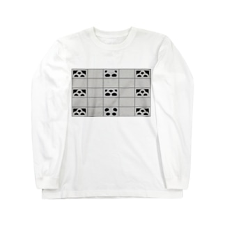 へい!パンダ ロングスリーブTシャツ