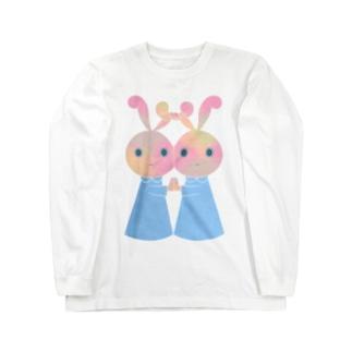 ニコイチのロングスリーブTシャツ ロングスリーブTシャツ