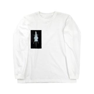 ネズミのレントゲン ロングスリーブTシャツ