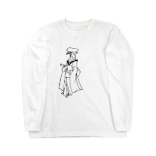 JUNSEN(純仙)お遍路でありんす ロングスリーブTシャツ