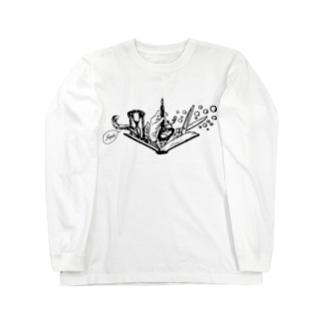 -Noir+Angelique- メモリアルイラスト柄シリーズ ロングスリーブTシャツ