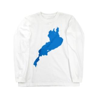 琵琶湖 ロングスリーブTシャツ
