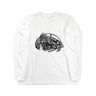 Calappa japonica ロングスリーブTシャツ