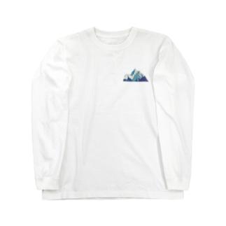 mountain ロングスリーブTシャツ