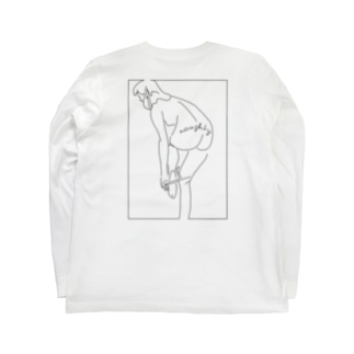 THE CITYのsexy girl Long sleeve T-shirtsの裏面