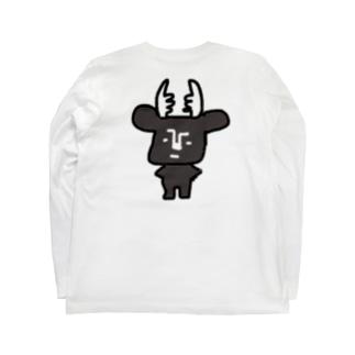 黒BUSHIKA Long sleeve T-shirts