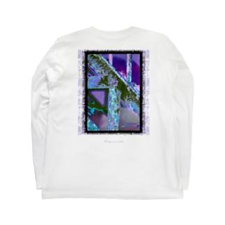 錆びて剥がれて灼熱 ~ パープル Long sleeve T-shirts