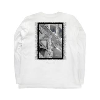 錆びて剥がれて灼熱 ~ グレイ Long sleeve T-shirts