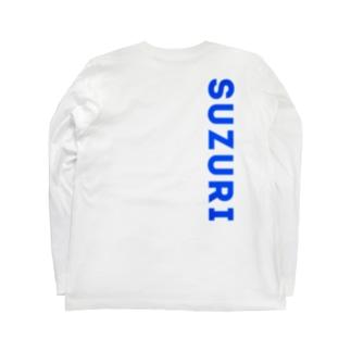 BLUE Long sleeve T-shirts