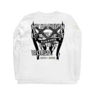 "DIOGRANDE JAPAN ""DEATH TROYER"" レプリカモデル Long sleeve T-shirts"
