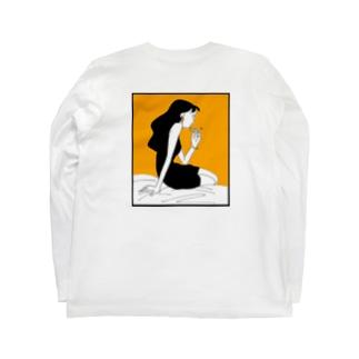 イヤリング Long sleeve T-shirts