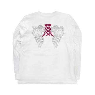 Angel≠wing Long sleeve T-shirts