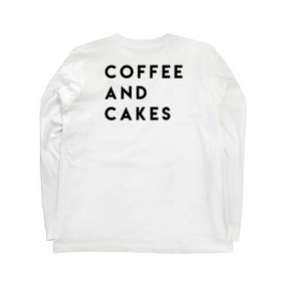 coffee and cakes Long sleeve T-shirts