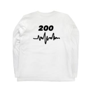 Electrocardiogram Long sleeve T-shirts