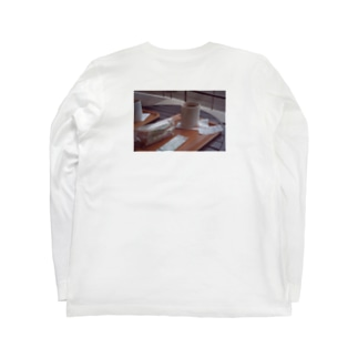 ココアとサンドイッチ Long sleeve T-shirts