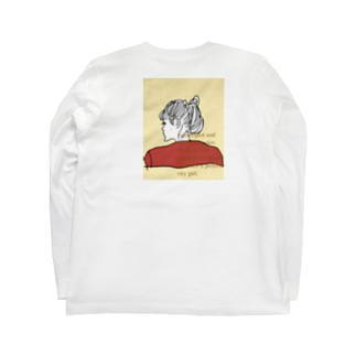 city girl /beige Long sleeve T-shirts
