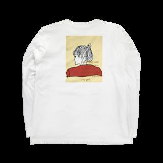 peachykeenのcity girl /beige Long sleeve T-shirts