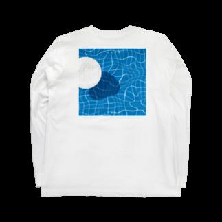 Iwabuchi MamiのPOOL Long sleeve T-shirts