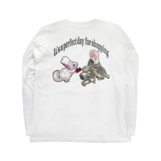 うさチラショッピング Long sleeve T-shirts