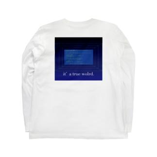 初カキコ・・・ども Long sleeve T-shirts