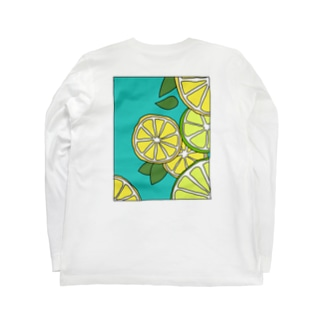 輪切りれもん Long sleeve T-shirts