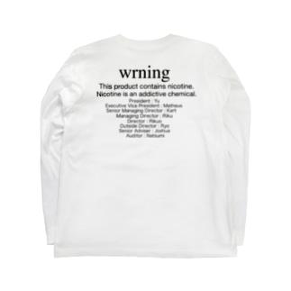warning Long sleeve T-shirts