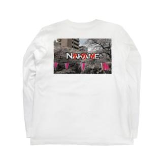 ナカメ Long sleeve T-shirts