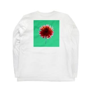 Dahlia back print T Long sleeve T-shirts