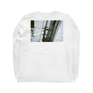 地獄の配線 Long sleeve T-shirts