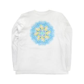 龍体フトマニ図 Long sleeve T-shirts