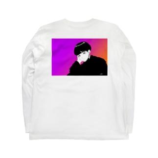 gradation Long sleeve T-shirts