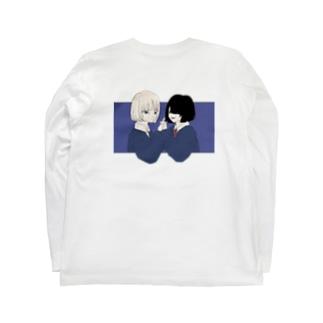 不完全に百合 Long sleeve T-shirts