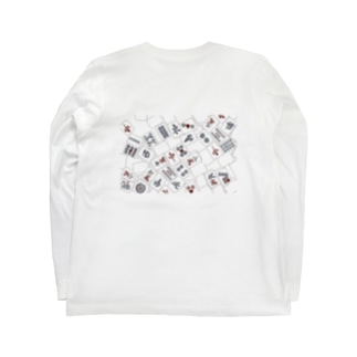 麻雀♥倶楽部 Long sleeve T-shirts