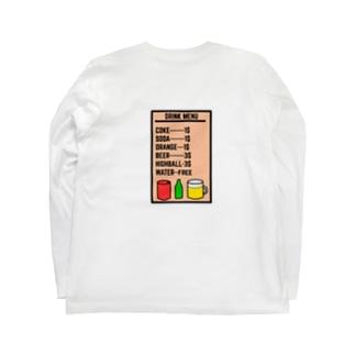 DRINK TONIGHT Long sleeve T-shirts