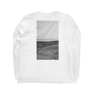 zimoto .砂浜 Long sleeve T-shirts