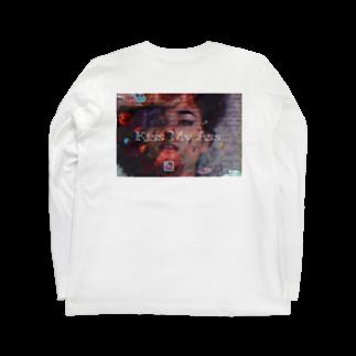 ⚀Ambi⚅のKiss My Ass Long sleeve T-shirts