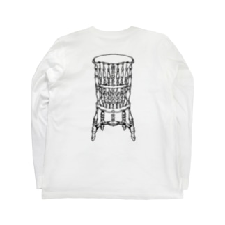 Dead Man's Chair-Memento Mori(淡色向け) Long sleeve T-shirts