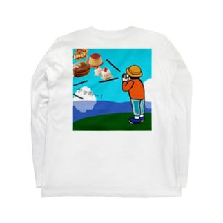 スイーツやまびこ Long sleeve T-shirts