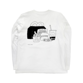 happy meal Long sleeve T-shirts