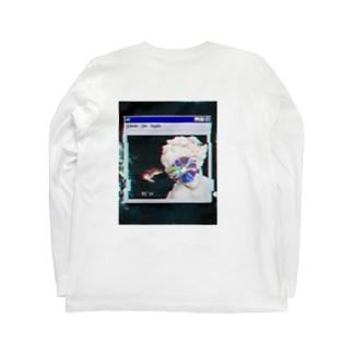 サビシイ…… Long sleeve T-shirts