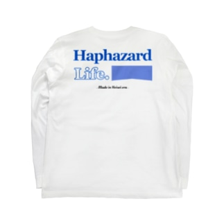 Haphazard Life. [Basic Long sleeve T-shirt] Long sleeve T-shirts