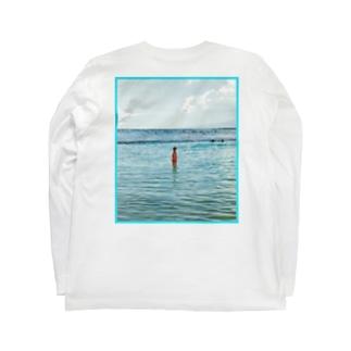 YAKYUBO STOREのHawaii LS TEE (バックプリント) Long sleeve T-shirts
